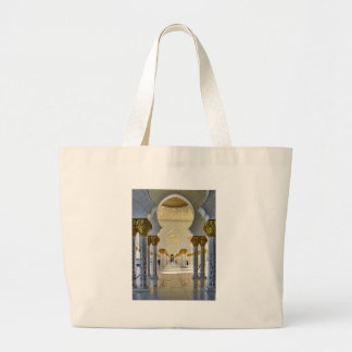 Sheikh Zayed Grand Mosque Corridor Tote Bag