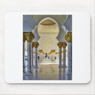 Sheikh Zayed Grand Mosque Corridor Mouse Pad