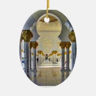 Sheikh Zayed Grand Mosque Corridor Ornament
