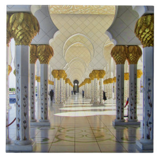 Sheikh Zayed Grand Mosque Corridor Tile