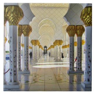 Sheikh Zayed Grand Mosque Corridor Tile