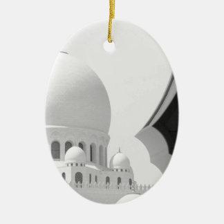 Sheikh Zayed mosque 3 Ceramic Ornament