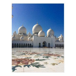 Sheikh Zayed Mosque - Abu Dhabi Postcard