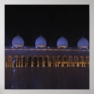 Sheikh Zayed Mosque Póster