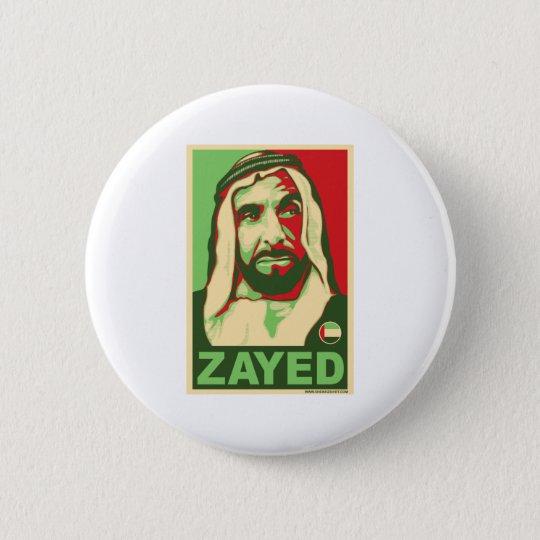 Sheikh Zayed Products Pinback Button