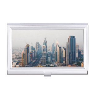 Dubai business card holders cases zazzle sheikh zayed road case for business cards reheart Choice Image