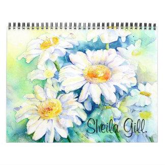 Sheila Gill Calender. Calendar