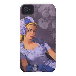 Sheila - los años 40 que igualan desgaste en lavan Case-Mate iPhone 4 carcasa