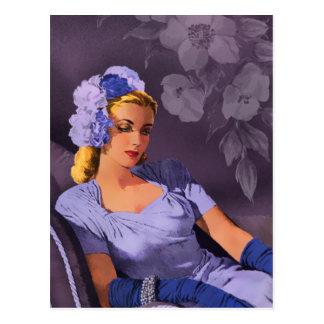Sheila - los años 40 que igualan desgaste en postales