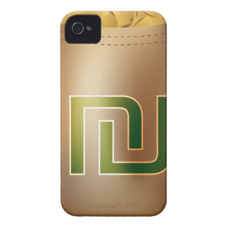 Shekel Gold Coin Money Bag Icon iPhone 4 Case-Mate Case