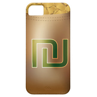 Shekel Gold Coin Money Bag Icon iPhone 5 Cases