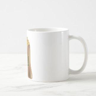 Shekel Gold Coin Money Bag Icon Classic White Coffee Mug