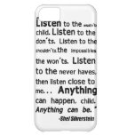 Shel Silverstein Quote iPhone Case Cover For iPhone 5C