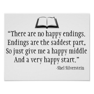 Shel Silverstein Quote Wall Poster
