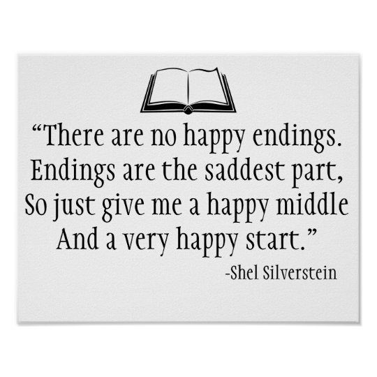 Shel Silverstein Quote Wall Poster Zazzlecom