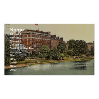 Shelbourne Hotel. Dublin. Co. Dublin, Ireland rare Business Card