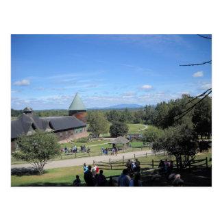 Shelbure Farms Vermont Postcard