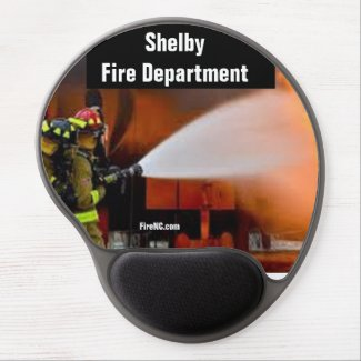 Shelby Fire Department Gel Mouse Pad