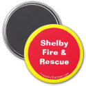 Shelby Fire & Rescue Magnet