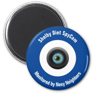 Shelby NC Diet SpyCam Magnet
