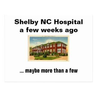 Shelby NC Hospital Postcard