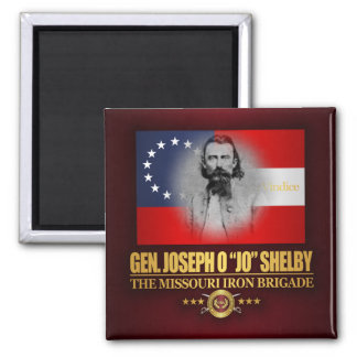 Shelby (Southern Patriot) 2 Inch Square Magnet