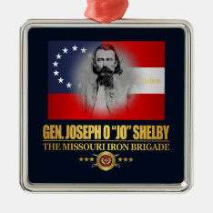 Shelby (southern Patriot) Metal Ornament at Zazzle