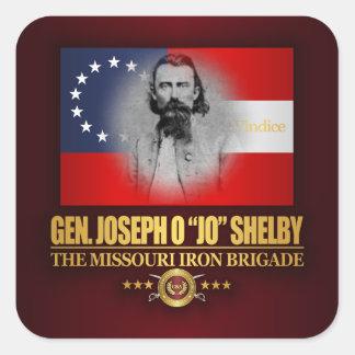 Shelby (Southern Patriot) Square Sticker