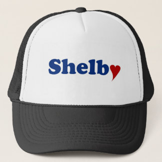 Shelby with Heart Trucker Hat