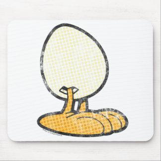 Sheldon el huevo Mousepad Tapetes De Ratón