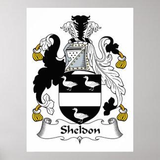 Sheldon Family Crest Print