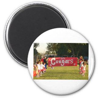 Sheldon Football League Cougars Under 8 Magnet