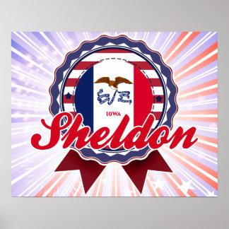Sheldon, IA Print