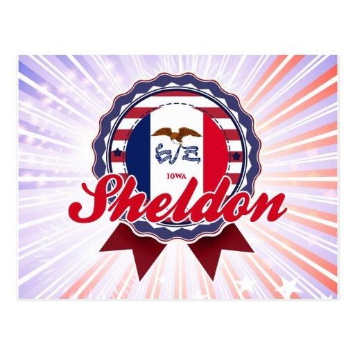 Sheldon, IA Tarjeta Postal