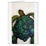Sheldon la tortuga de mar felicitación