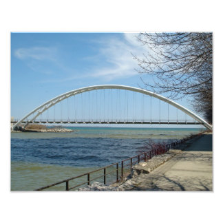 Sheldon Lookout Park Toronto Bridge Photo Print
