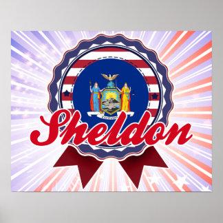 Sheldon, NY Print