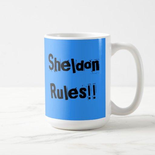 Sheldon Rules Mug