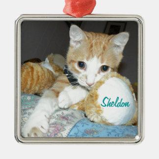 sheldon square ornament