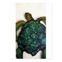 Sheldon the Sea turtle Postcard