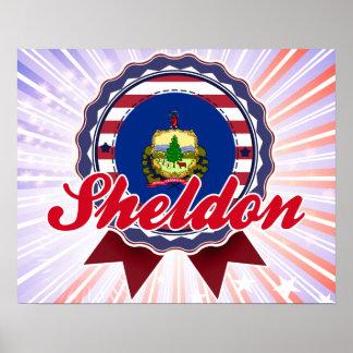 Sheldon, VT Print