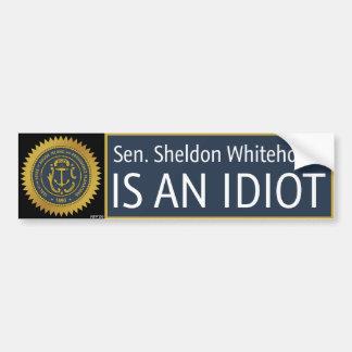 Sheldon Whitehouse Pegatina De Parachoque