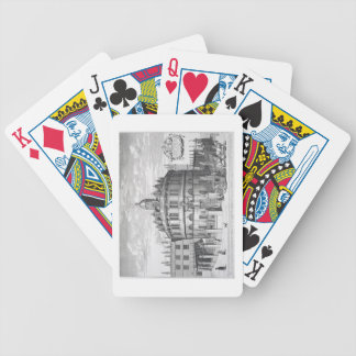 Sheldonian Theatre, Oxford, from 'Oxonia Illustrat Bicycle Playing Cards