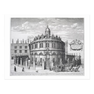 Sheldonian Theatre, Oxford, from 'Oxonia Illustrat Postcard