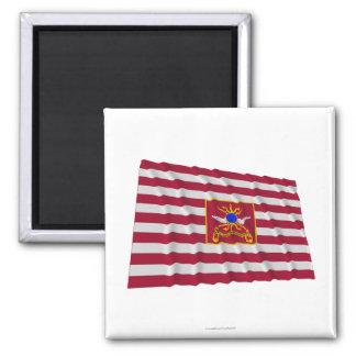Sheldon's Horse Flag 2 Inch Square Magnet