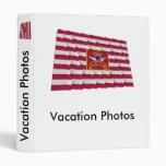 Sheldon's Horse Flag Vinyl Binder