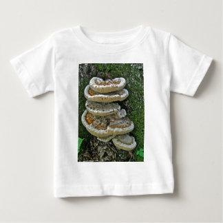 Shelf Fungi on Stump Baby T-Shirt