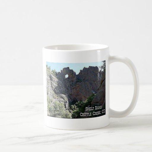 Shelf Road Classic White Coffee Mug