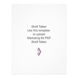 """Shelf Talker Marketing Kit Template 8.5"""" X 11"""" Flyer"""