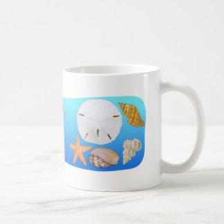 Shell ahueca taza de café